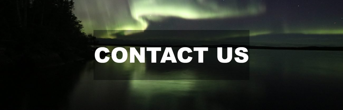 Contact us Page Northern Lights