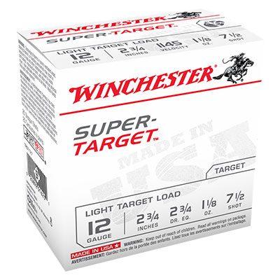 Winchester Super Target Load 12 Gauge Ammo