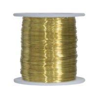 Brass Snare Wire 1 Lb Spool