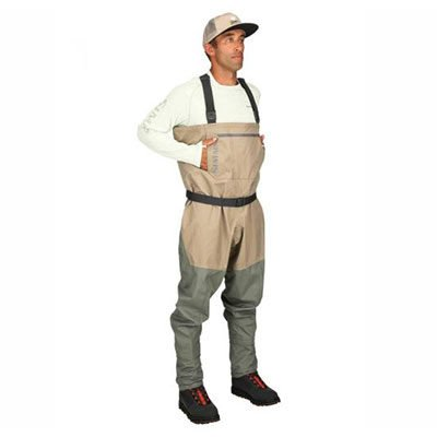 Simms Tributary Waders Front