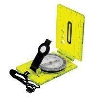 Hi Vis Lensatic Map Compass