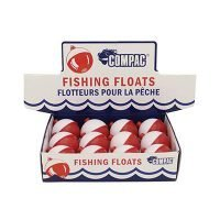 Compac Red & White Bobbers