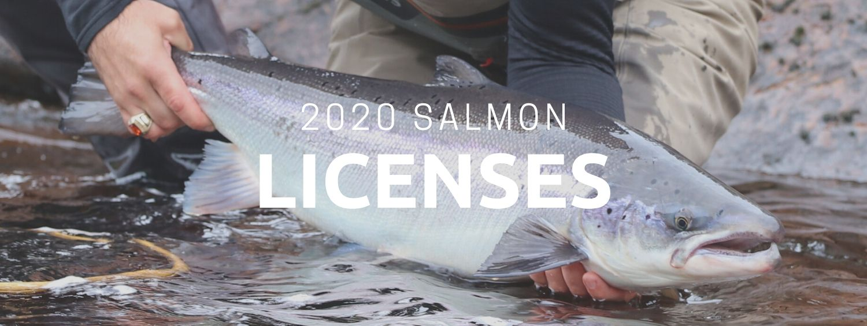 2020 Salmon Licenses