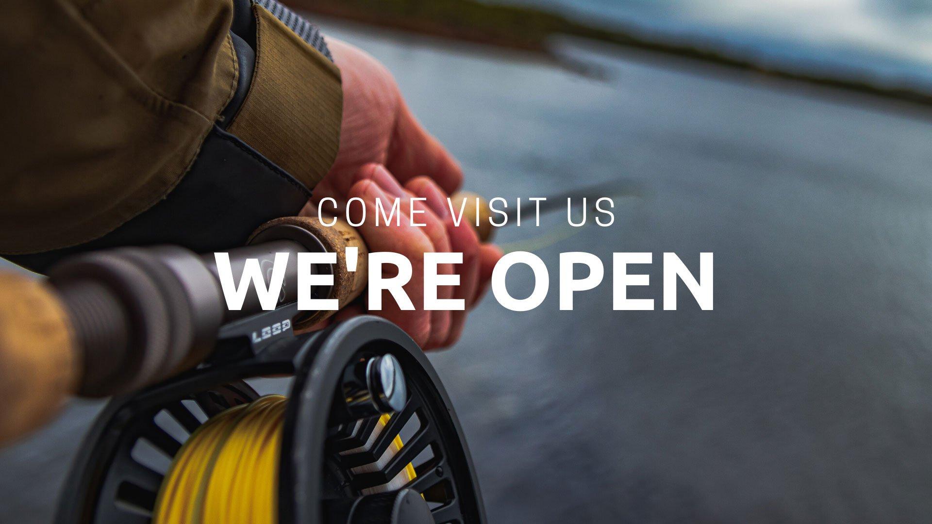 Come Visit Us We're Open