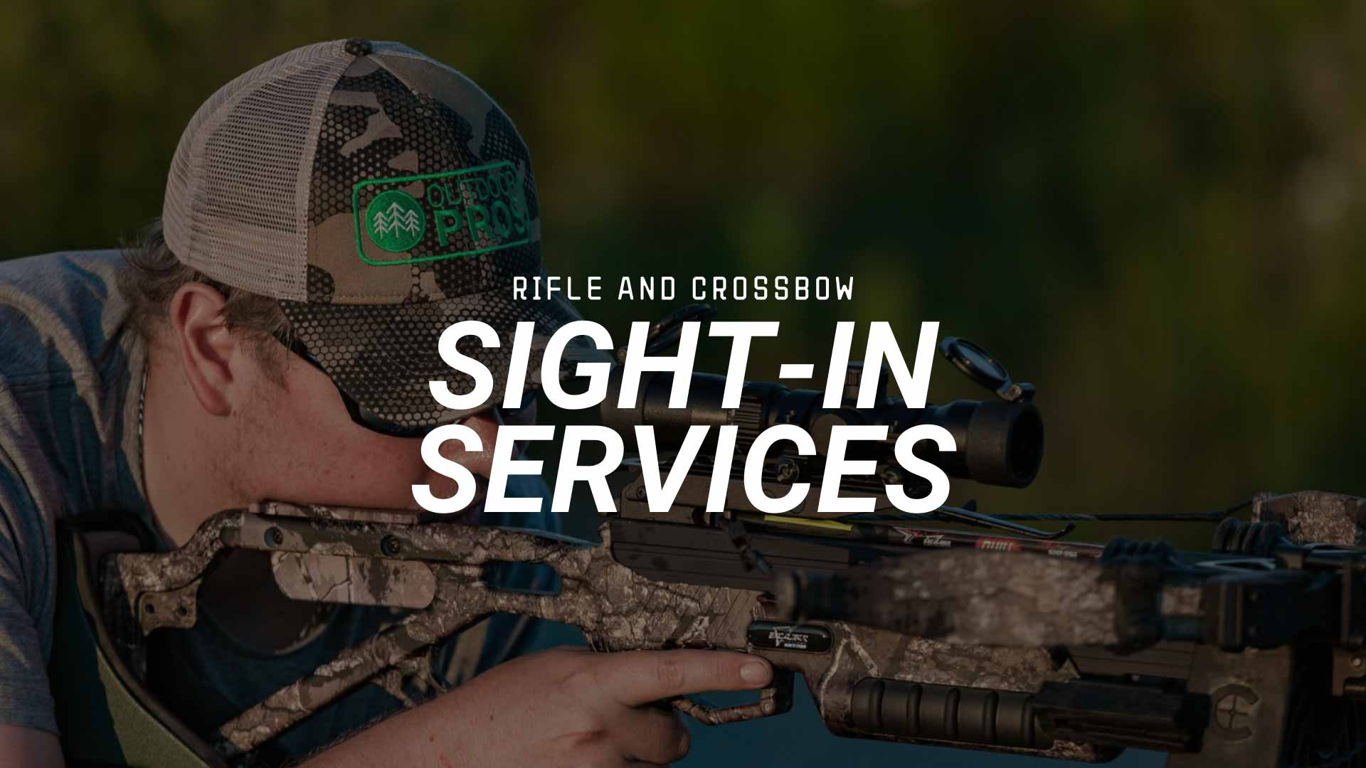 Sight In Rifle Crossbow