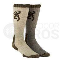 Browning Poplar 2 Pack Socks
