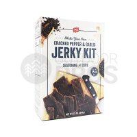 Cracked Pepper & Garlic Jerky Kit