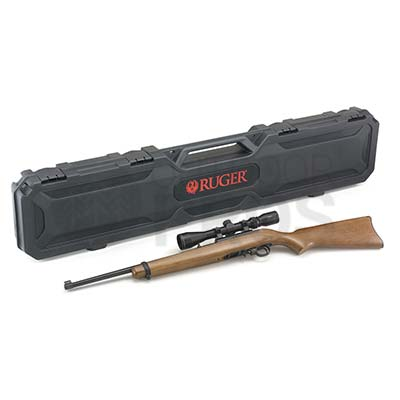 Ruger 10/22 Hardwood Scope Combo