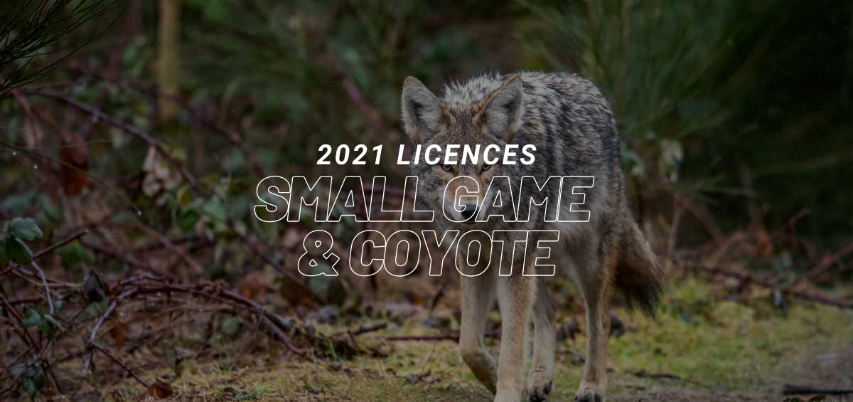 2021 Small Game Licences